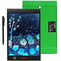 NOBES Tableta de escritura colorido LCD 9.7 Inch, Tablero de dibujo de gráficos, Pizarra magnética del mensaje,Memo Pad Electrónico con Lápiz Táctil de Notas para Niños, Clase, Oficina, Familia (9.7 Inch, Verde)