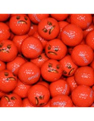 Emoji Angry Face–Bolas de golf (24unidades), color rojo