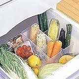 Best Dorm Fridge - vmore 2PCS Refrigerator Storage Basket Eggs Vegetable Space Review