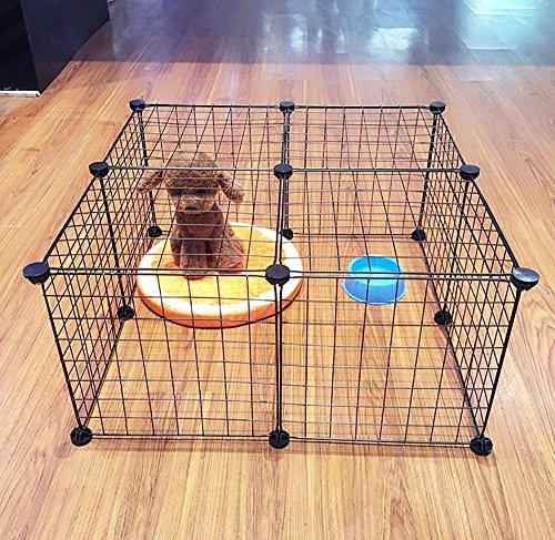 parc pour chiens et animaux de compagnie grande cage en. Black Bedroom Furniture Sets. Home Design Ideas