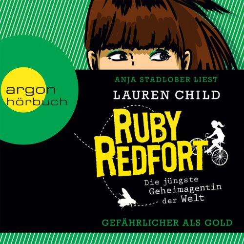 Buchseite und Rezensionen zu 'Gefährlicher als Gold (Ruby Redfort 1)' von Lauren Child