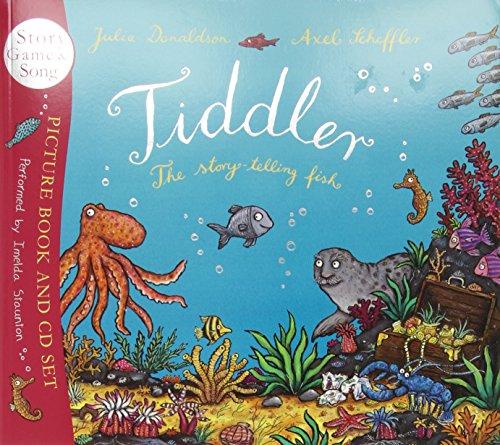 Tiddler book and CD por Julia Donaldson