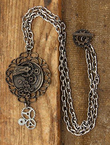 Steampunk antike Schmetterling Getriebe (Getriebe Halskette)