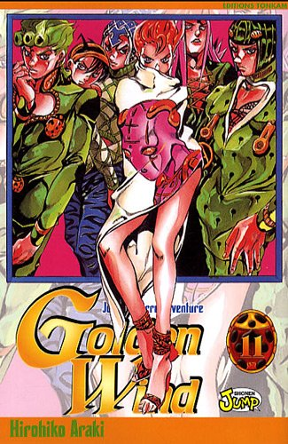 Jojo's bizarre adventure - Golden Wind Vol.11 par ARAKI Hirohiko
