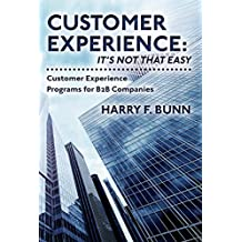 Customer Experience: It's not that easy: Customer Experience Programs for B2B Companies (English Edition)