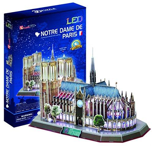 CubicFun - Puzle 3D con luz de Notre Dame