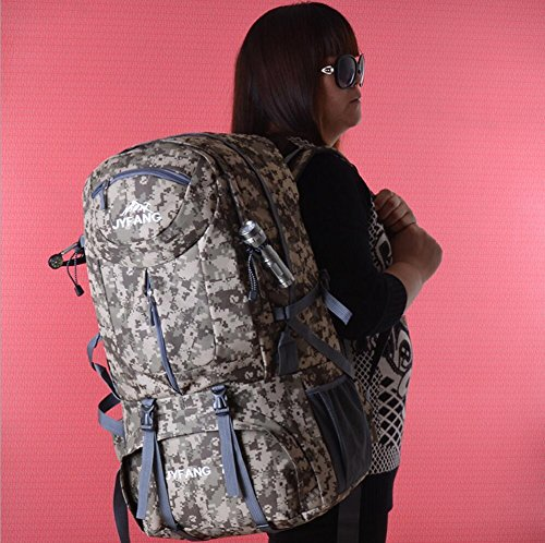 LQABW Outdoor-Reisen Männer Und Frauen Universal-Wear Multi-Funktions-Outdoor-Schulter-Oxford-Tuches Wasserdicht Wandern Bergsteigen Rucksack Tasche No.1