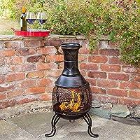 Kingfisher Outdoor Chiminea BBQ Heater
