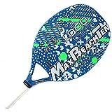 Tom Caruso Racchetta Beach Tennis Racket MBT Logo Cyan 2018