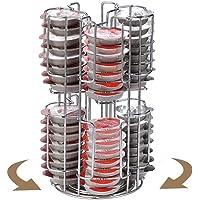 Porte Capsules Café Rotatif pour 64 Tassimo Bosch Café Capsules, Coffee Holder Capsules Stand Pod, Support Capsule…