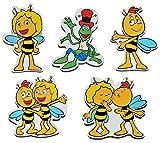 3 Stück: Magnet - Biene Maja - aus Holz für Kinder - Kinderzimmer Kühlschrankmagnet / Kindermagnet Holzmagnet Magneten Bienen