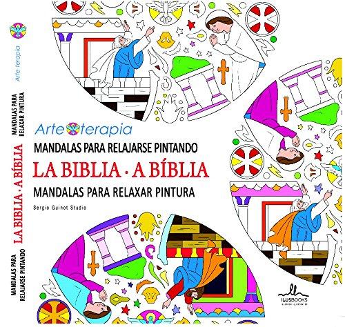 Mandalas para relajarse pintando LA BIBLIA (Arteterapia) por Sergio Guinot Studio