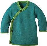 Disana 32509XX - Melange-Jacke Wolle grün, Size / Größe:86/92 (1-2 Jahre)
