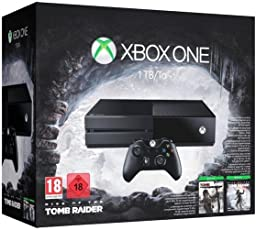Xbox One 1TB Konsole - Bundle inkl. Rise of the Tomb Raider und Tomb Raider: Definitive Edition