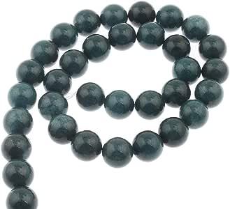 1 Strang frosted Glasperlen Perlen Beads Schmuck DIY Basteln matt Rot 10mm