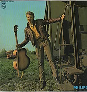 "Johnny HALLYDAY Pochette 33Tours vinyle Mes Yeux Sont Fous ""Hallelujah"""