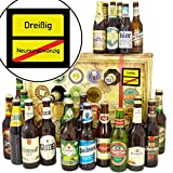 Ortsschild 30 - mit Bieren aus der Welt und DEU - Bier Adventskalender