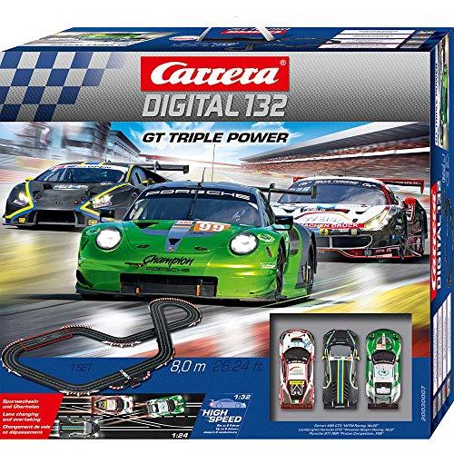 Carrera- GT Triple Power Coche, Multicolor (Stadlbauer Marketing+Vertrieb GmnH 20030007)