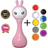 Alilo Smart Bunny R1 Gelb English Content Intelligente Babyrassel Rassel Spieluhr Babyspielzeug Baby Edutainment Für Ihr Kind Baby