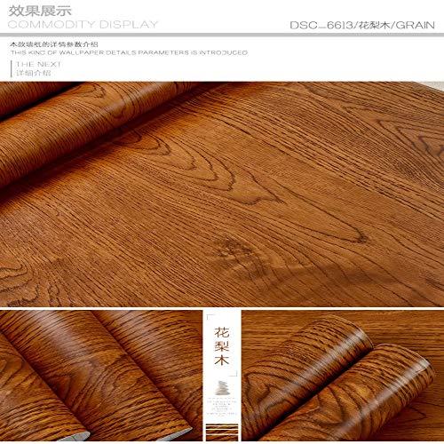 lsaiyy Dicke weiße Holzmaserung Aufkleber Boeing Folie PVC wasserdicht Selbstklebende Tapete Kleiderschrank Schrank alte Tür Möbel Tapete-61CMX5M - Chateau Kleiderschrank