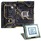 Intel Core i5-8400 / ASUS TUF Z370-PLUS GAMING Mainboard Bundle | CSL PC Aufrüstkit | Intel Core i5-8400 6x 2800 MHz, Intel UHD Graphics 630, GigLAN, 7.1 Sound, USB 3.1 | Aufrüstset | PC Tuning Kit