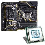 Intel Core i5-8400 / ASUS TUF Z370-PLUS GAMING Mainboard Bundle | CSL PC Aufrüstkit | Intel Core i5-8400 6x 2800 MHz, Intel UHD Graphics 630, GigLAN, 7.1 Sound, USB 3.1 | Aufrüstset | PC Tuning Kit