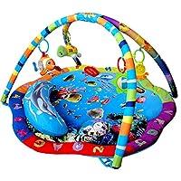 Just4baby Light & Musical Baby Ocean Playmat Play Gym Musical Activity Play Mat stunning Ocean Sealife
