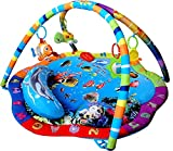 Best Lamaze Baby Gyms - Just4baby Light & Musical Baby Ocean Playmat Play Review