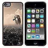 BearCase / Stark Shell-Kunststoff-Gehäuse-Schutzhülle /// Apple iPod Touch 6 6th Touch6 /// Lustige Riesen Domoku