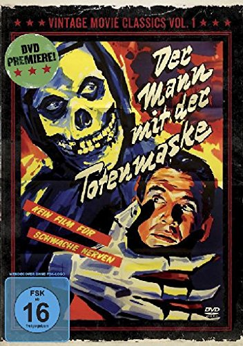 Der Mann mit der Totenmaske - Vintage Movie Classics Volume 01 -  Limitiert auf 1.000 Stück -