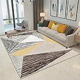 CHAI Wohnzimmer Dekoration Teppich Matte Nordic Einfachen Stil Rechteckigen Teppich Schlafzimmer Rutschfeste Teppich Kinder Teppich 3D Druck Teppich Teppiche (Größe : 180x280cm)