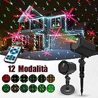 Proiettore Luci Laser Natale.Amazon It Laser Di Natale Luci Natalizie Illuminazione