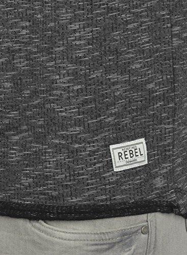 REDEFINED REBEL Matti- maglia da uomo Black