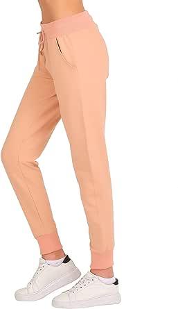Smith & Solo Jogginghose Damen – Sporthose Frauen Baumwolle  Sweatpants Slim Fit Freizeithose Lang   Trainingshose Fitness High Waist – Jogger Laufhosen Modern