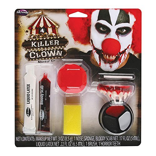 Kostüm Gruselig Gesicht Make-up Halloween Horror Circus Party Killer Clown Make Up Kit