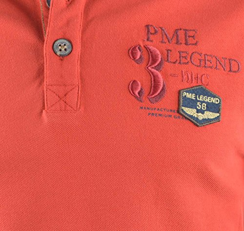 PME Legend Polo Shirt red Red