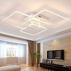 Lonfenner LED Deckenleuchte Post Modernen, Minimalistischen Wohnzimmer  Schlafzimmer Lampe Rechteckige Atmosphärischen Kunst Kreative Persönlichkeit