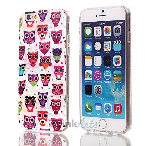ZhinkArts Eulen Schutzhülle mit verschiedenen Motiven für IPhone & Samsung Handy Case Cover Style Bird Eule Apple IPhone 5/5S Eule M10 Eule M14