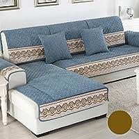 DW&HX Four Seasons Universal Protector de Muebles Sofa slipcover para Perro Mascota,3 Asientos Color