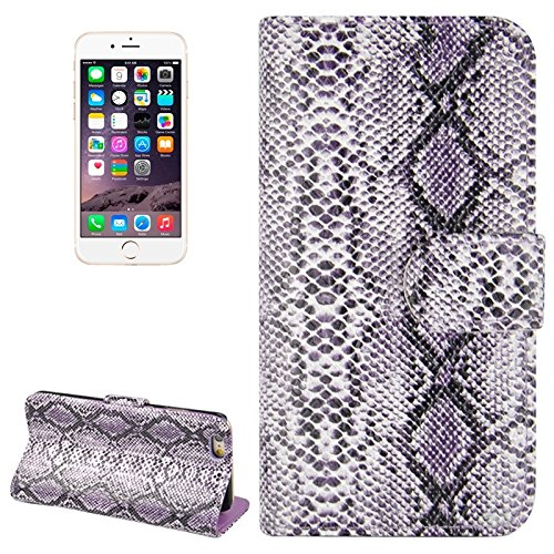 XIANGBAO-case Persönlichkeits-Fall Snakeskin Texture Horizontale Flip PU Ledertasche mit Card Slot & Holder für iPhone 6 & 6S Snakeskin Fall