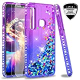 LeYi Galaxy A9 2018 Case with Tempered Glass Screen