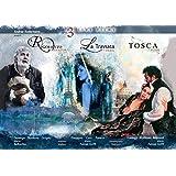 Verdi : Rigoletto [à Mantoue, 2010] - La Traviata [à Paris, 2000] / Puccini : Tosca