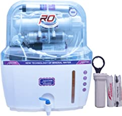 DE AquaZpure 15L 14 Stage RO UV UF TDS Alkaline Water Purifier with Full KIT (A1025)