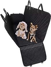 DMMASH Luxus-Hundesitzbezug - Hundehängematte - Reise-Autositzbezug - Rücksitzschutz