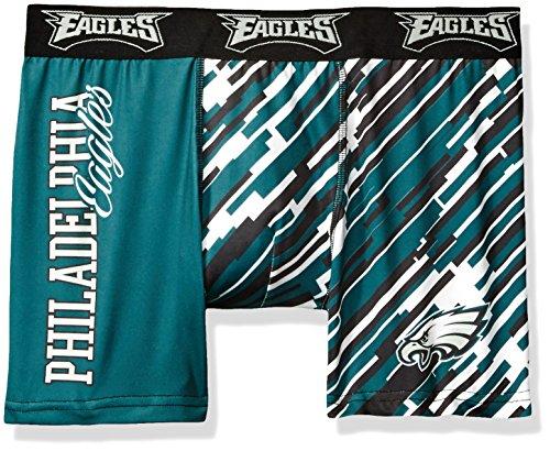 FOCO NFL Wordmark Underwear, Herren, Teamfarbe, Small