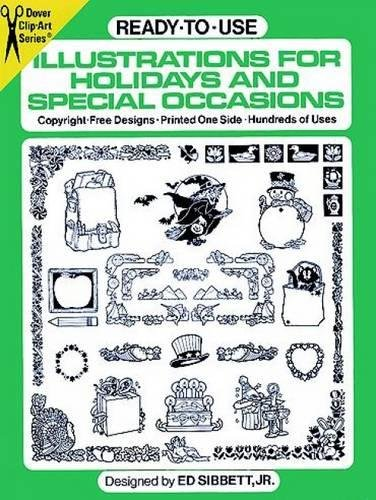 Ready-to-Use Illustrations for Holidays and Special Occasions (Dover Clip Art)