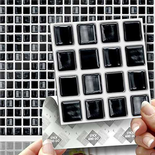 black-mosaic-effect-wall-tiles-box-of-18-tiles-stick-and-go-wall-tiles-4x-4-10cm-x-10cm-each-box-of-