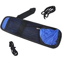 Electomania Blue Universal Car Auto Hanging Multi-Function Side Seat Mesh Net Organizer Multi Pocket Hanging String Storage Bag Pouch Holder Side Garbage Bag