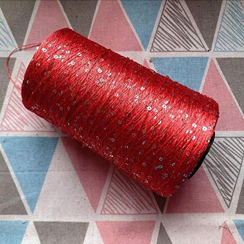 Hilo hilo lentejuelas lana cableado hilo lentejuelas