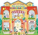 Mein kunterbunter Kindergarten: Stickern - Malen